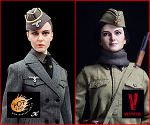 1/6 Scale WWII Historic Female Action Figures Banner