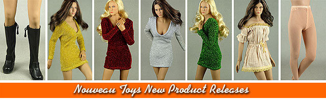 Nouveau Toys New Product Releases Banner