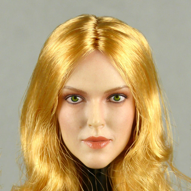 GAC Toys 1/6 Scale Female Caucasian Head Sculpt (Pale Suntan) With Rooted Blonde Hair