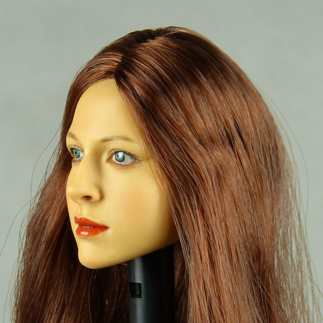 Kumik 1/6 Scale Female Head Sculpt Amanda With Hairpiece - K040 3