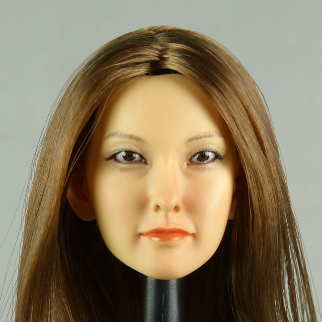 Kumik 1/6 Scale Female Head Sculpt P. Gyuri With Hairpiece - K049 1
