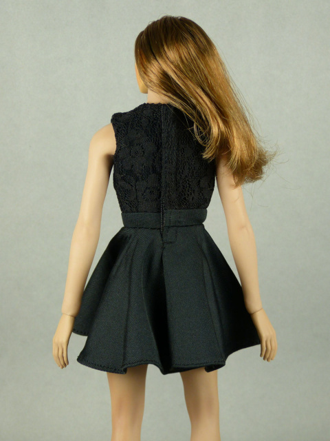 Nouveau Toys 1/6 Scale Female Sexy Black Party Dress