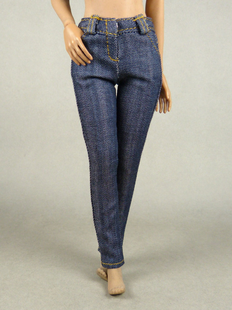 Nouveau Toys 1/6 Scale Tight Blue Denim Jean Pants