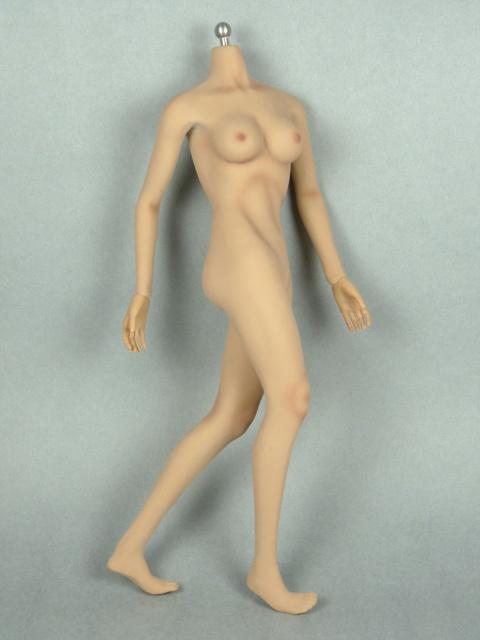 1/6 Phicen Super-Flexible Female Seamless Base Body with Stainless Steel Skeleton (Suntan Skin Medium Bust) 1