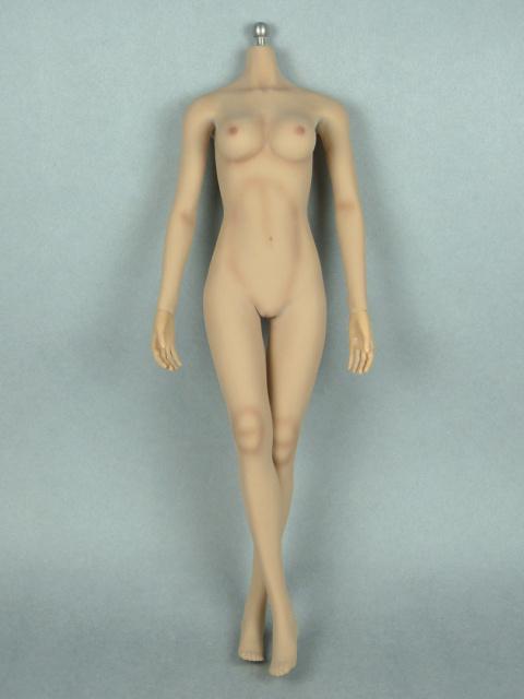 1/6 Phicen Super-Flexible Female Seamless Base Body with Stainless Steel Skeleton (Suntan Skin Medium Bust) 2