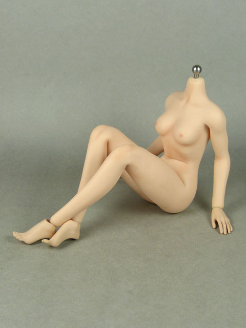 1/6 Phicen Super-Flexible Female Seamless Base Body with Stainless Steel Skeleton (Pale Skin Small Bust)