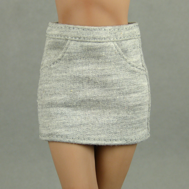 Playkid 1/6 Scale Female Gray Mini Skirt 1