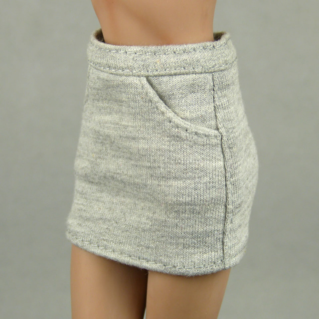Playkid 1/6 Scale Female Gray Mini Skirt 2