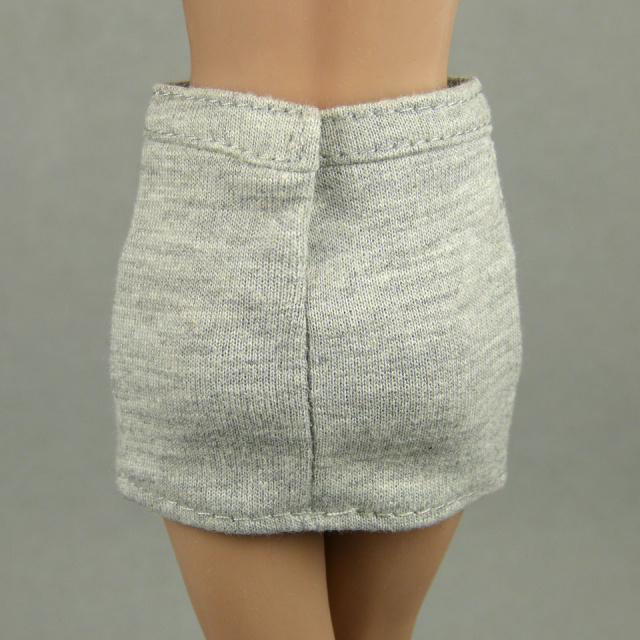 Playkid 1/6 Scale Female Gray Mini Skirt 3