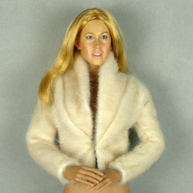 Vogue Beige Fur Jacket 1