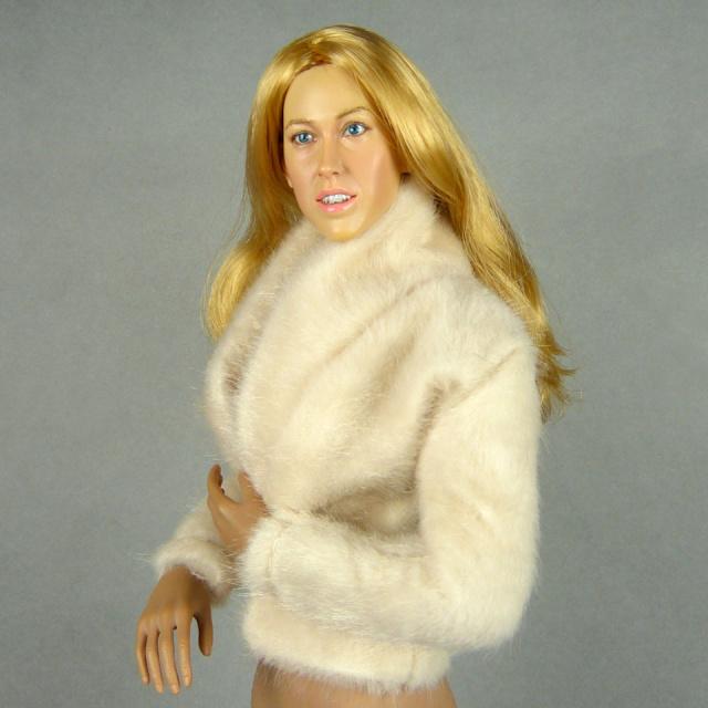 Vogue Beige Fur Jacket 2