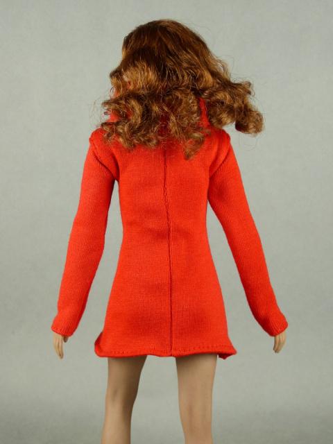 Nouveau Toys 1/6 Scale Female Red Mini Halter Dress
