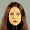 Kumik 1/6 Scale Female Head Sculpt Amanda With Hairpiece - K040