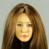 Kumik 1/6 Scale Female Head Sculpt J.H. With Hairpiece - K083