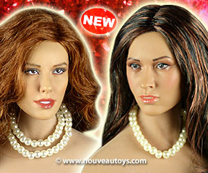 1/6 Scale Nouveau Toys White Pearl Necklaces Banner