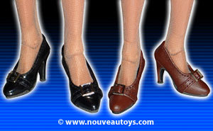 Nouveau Toys 1/6 Leather High Heel Shoes