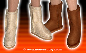 Nouveau Toys 1/6 Leather Boots