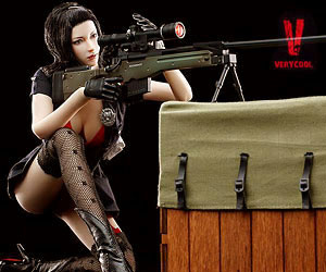 VeryCool 1/6 Scale Crossfire-Defender of Fox Legend Female Action Figure Box Set