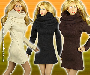 1/6 Scale Vogue Turtle Neck Dresses Banner
