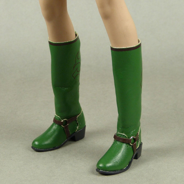CAT Toys 1/6 Scale Female Green Cow Girl Boots