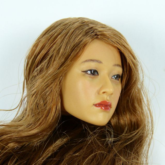 Kumik 1/6 Scale Female Head Sculpt Hye Su With Hairpiece - K077