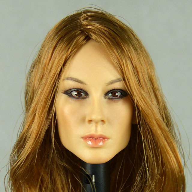 Kumik 1/6 Scale Female Head Sculpt Misun With Hairpiece - K064