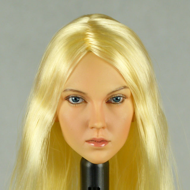 Kumik 1/6 Scale Female Head Sculpt Alexus With Hairpiece - K107