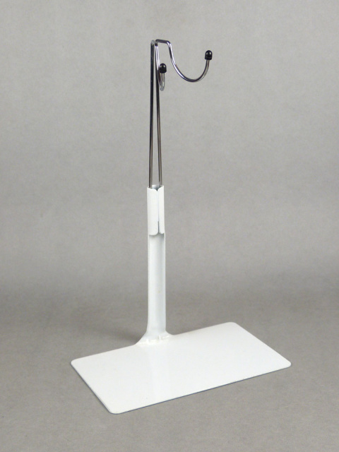1/6 Scale Kumik Basic Action Figure Metal Stand (White)