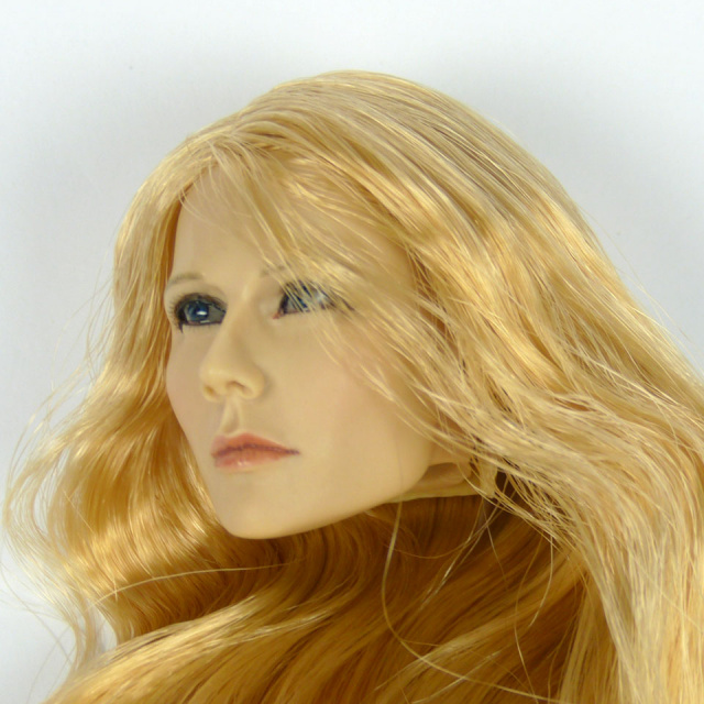 Kumik 1/6 Scale Female Head Sculpt Pam With Hairpiece - K082