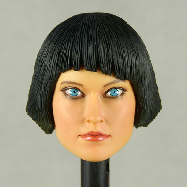 Kumik 1/6 Scale Female Head Sculpt Ouorra With Sculpted Hairpiece - NT005