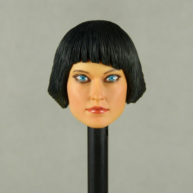 Nouveau Toys 1/6 Scale Female Head Sculpt Ouorra With Sculpted Hair - NT005 Image 1