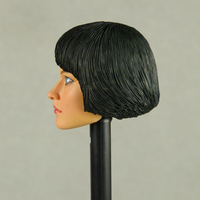 Nouveau Toys 1/6 Scale Female Head Sculpt Ouorra With Sculpted Hair - NT005 Image 3