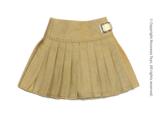 f60171f91409 Nouveau Toys Uniform Series - 1/6 Scale Female Beige Plaid Skirt