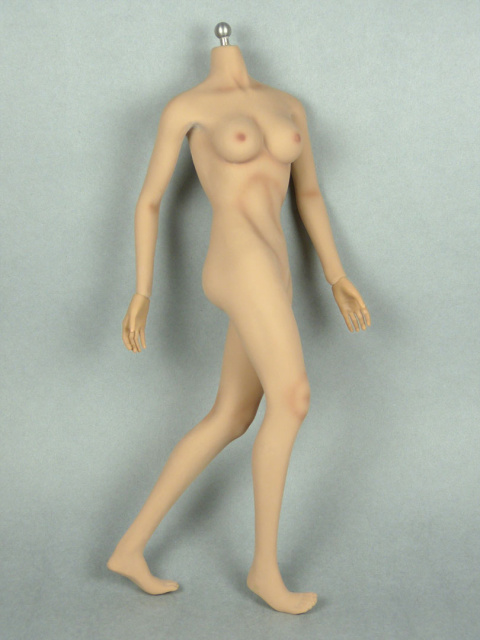 1/6 Phicen Super-Flexible Female Seamless Base Body with Stainless Steel Skeleton (Suntan Skin Mediu