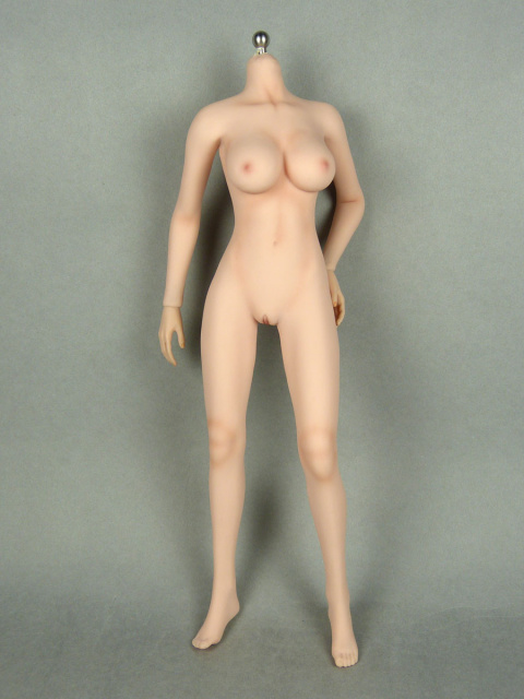 1/6 Phicen Super-Flexible Female Seamless Base Body with Stainless Steel Skeleton (Pale Skin Large B