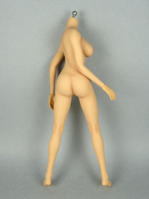 1/6 Phicen Super-Flexible Female Seamless Base Body with Stainless Steel Skeleton (Tan Skin Large Bust) 2