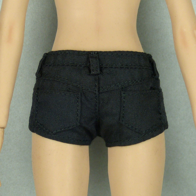 SMcG 1/6 Scale Sexy Female Black Summer Hot Shorts Image 3
