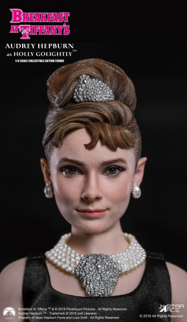 Star Ace Toys 1/6 Scale Breakfast At Tiffany's Holly Golightly Audrey Hepburn Figure Box Set
