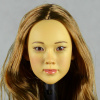 Kumik 1/6 Scale Female Head Sculpt Vicky With Hairpiece - K1001