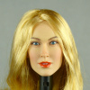 Nouveau Toys 1/6 Scale Female Head Sculpt Samantha With Blonde Hairpiece - NT001BD